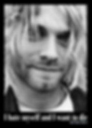 Kurt Cobain picture I Hate Myself And I