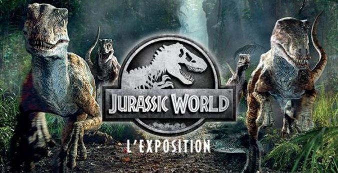 Jurassic World l'exposition à la Cité du Cinéma
