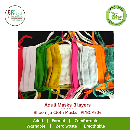 Adult Masks  3 layers