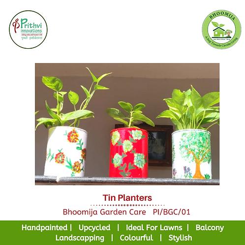 Tin Planters