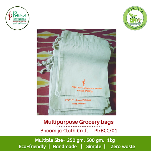 Multipurpose Grocery bags