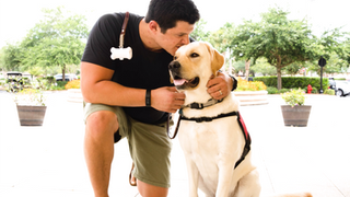 WOOF (SERVICE DOG TRAINING STORY)