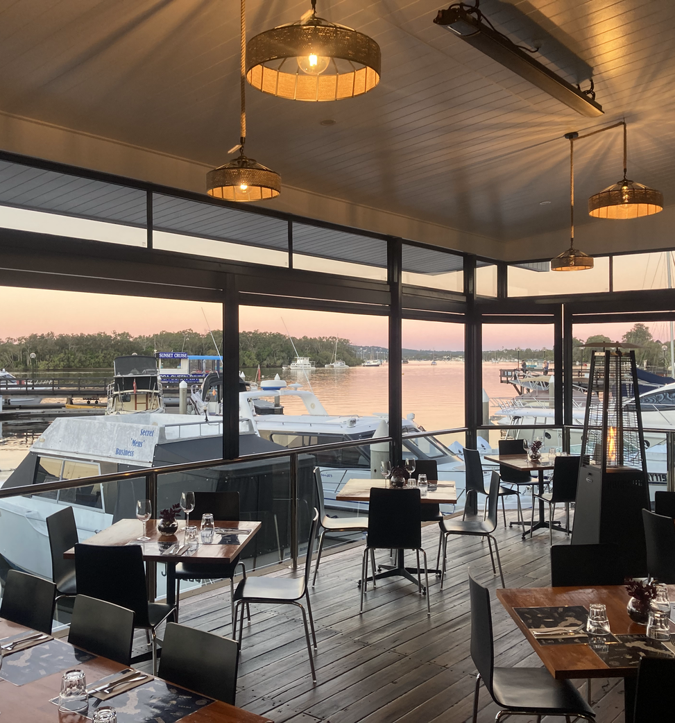 Noosa Italian Waterfront view wedding functions christmas party