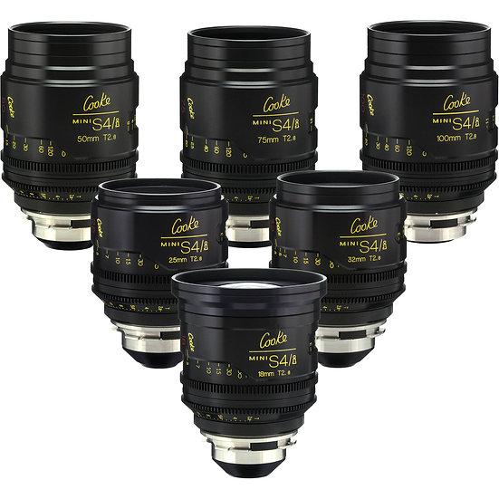 Cooke S4/I Mini Lenses Package (PL Mount)