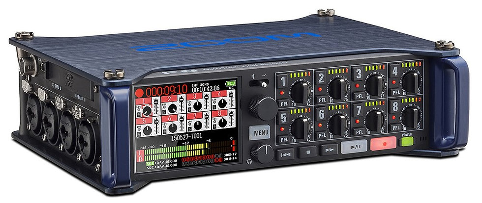 Zoom F8 Multi-Track Field Recorder Package