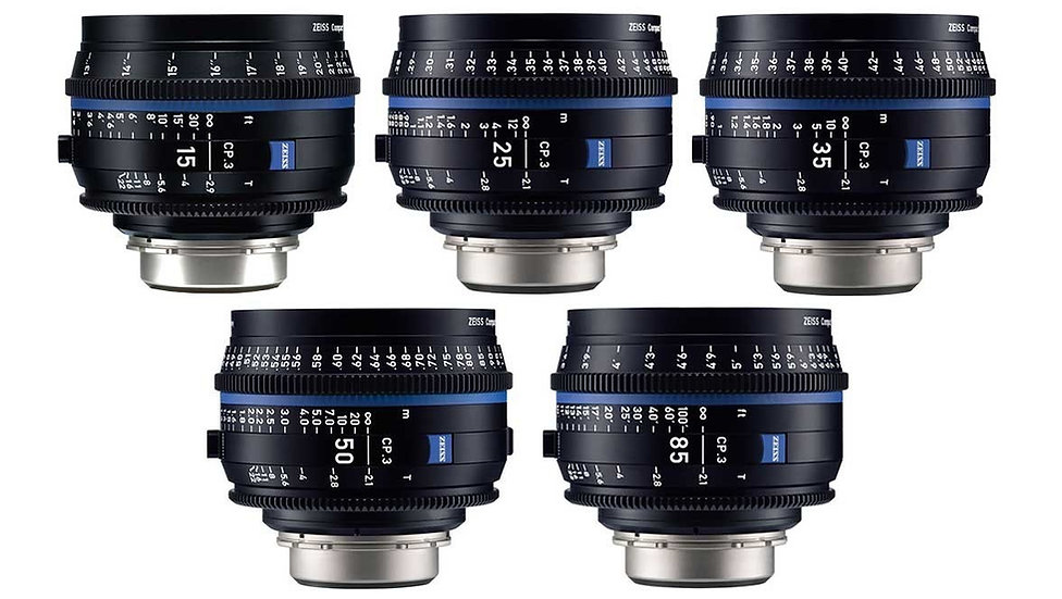 Carl Zeiss Compact Lenses CP3 Package