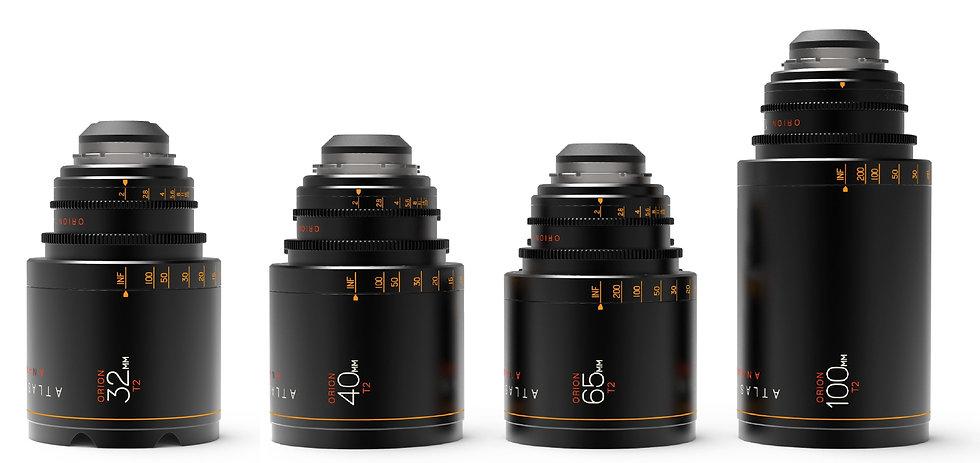 Atlas Orion Lenses Set A+ Package