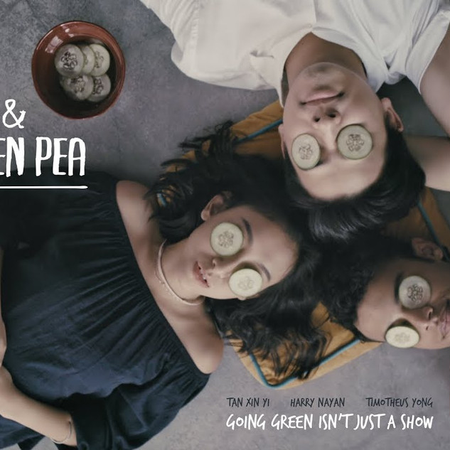 Dot and the Green Pea