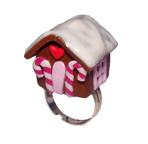 Gingerbread House ring