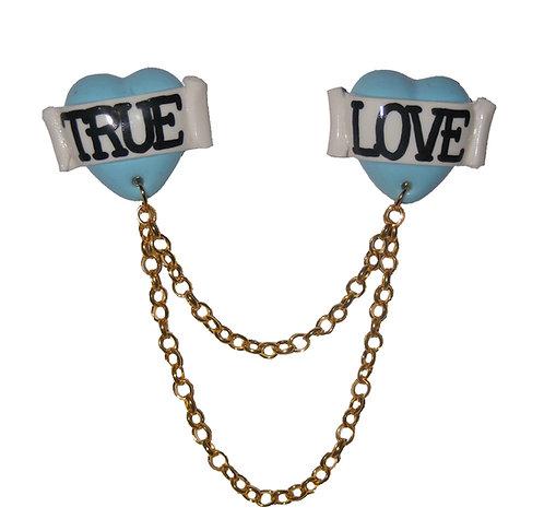True Love collar clips