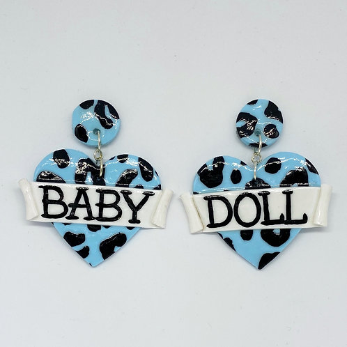 Baby Doll Statement Earrings