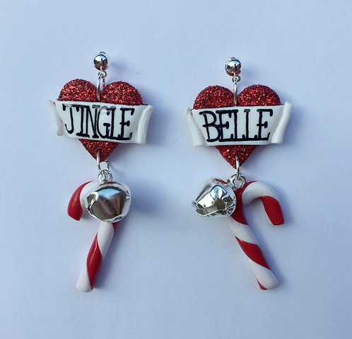 Jingle Belle drop earrings