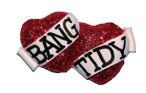 Bang Tidy double heart ring