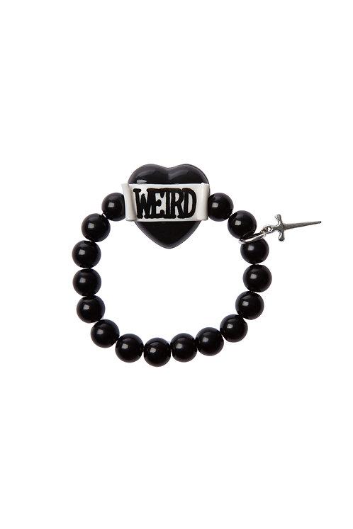 Weird heart stretch bracelet