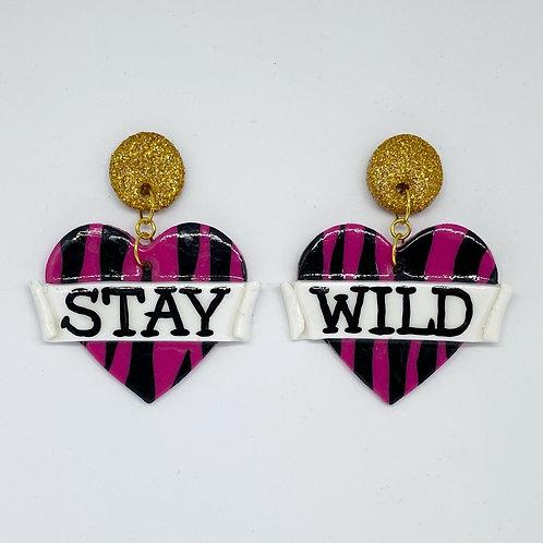 Stay Wild Statement Earrings