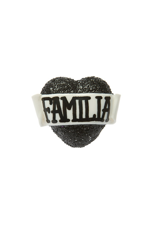 Familia single heart ring