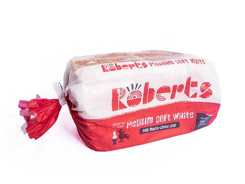 Roberts Medium Soft white Loaf