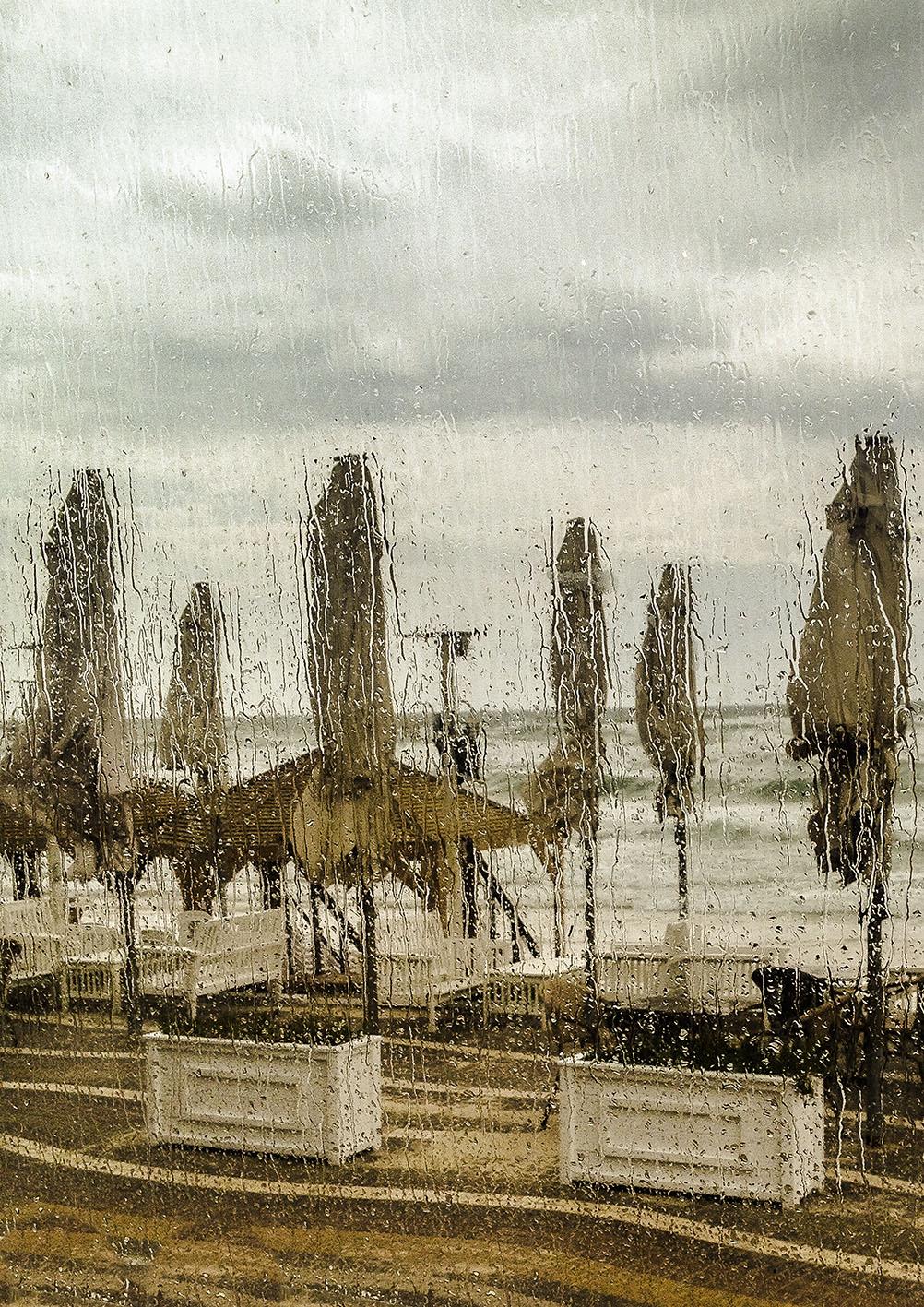 Herzlia Beach in the Rain