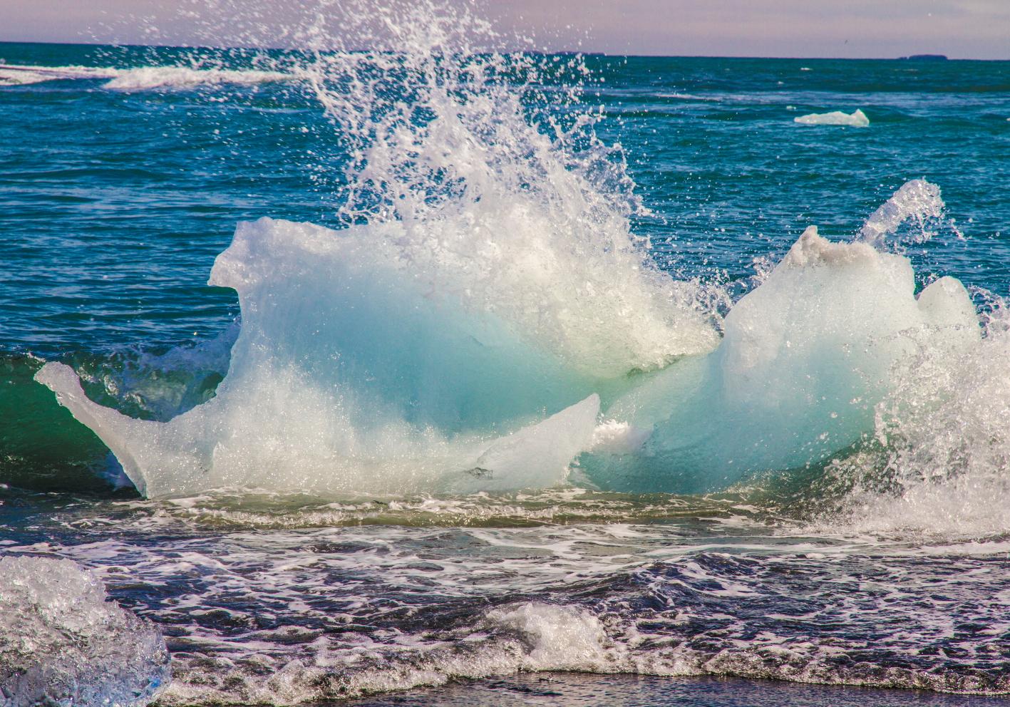 Iceland - Blue Wave