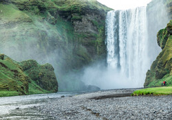 Iceland - Skogar Falls