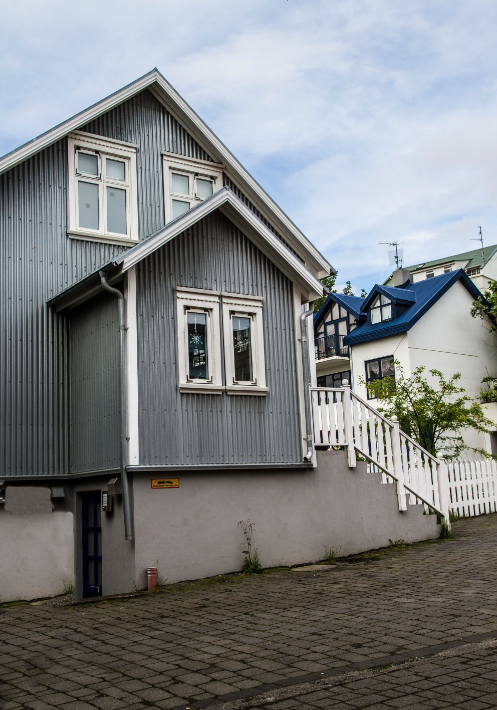 Iceland -House in Reykjavik