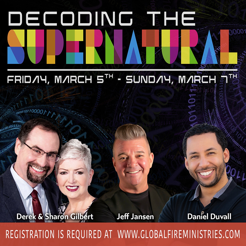 Decoding the Supernatural March 5-7, 2021
