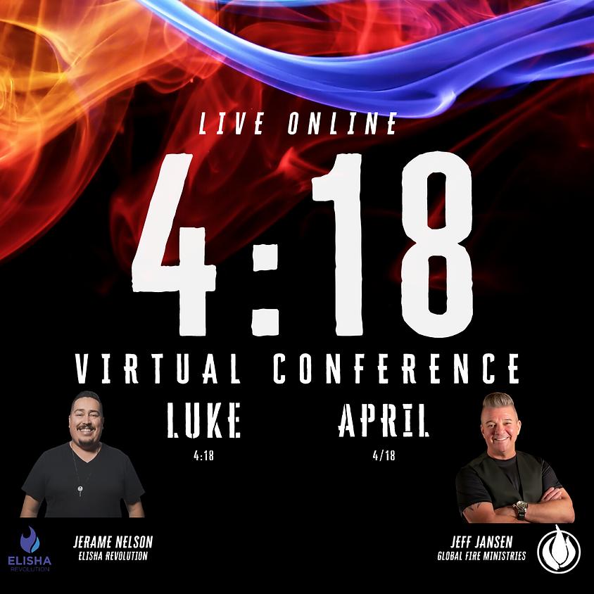 4:18 Virtual Conference