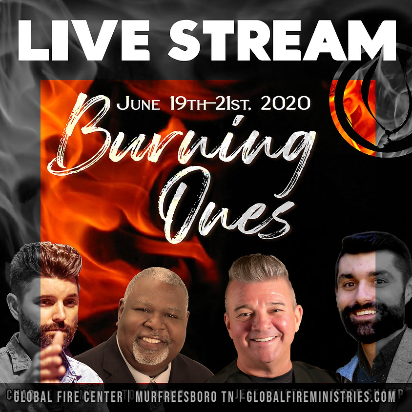 Burning Ones - LIVE STREAM ONLY