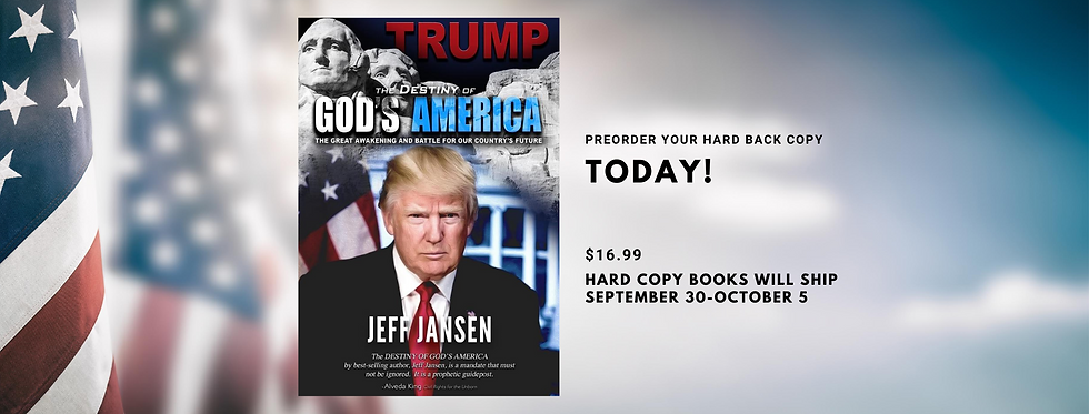 Preorder Jeff jansen's latest book today
