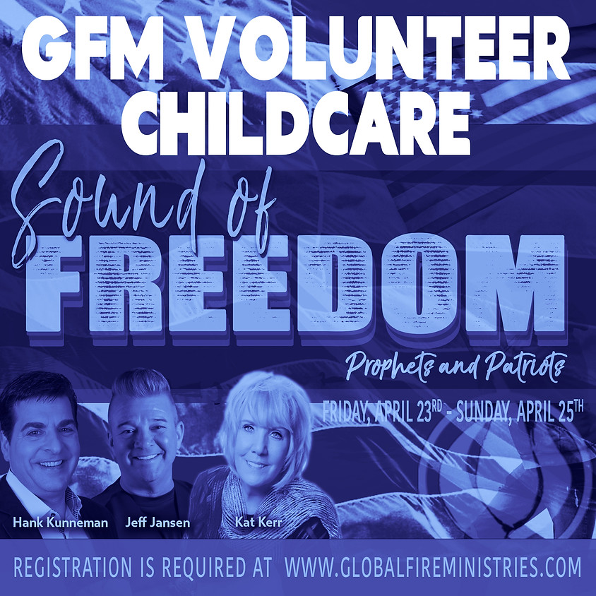 GFM Volunteer Childcare & Youth Attendee Sign Up