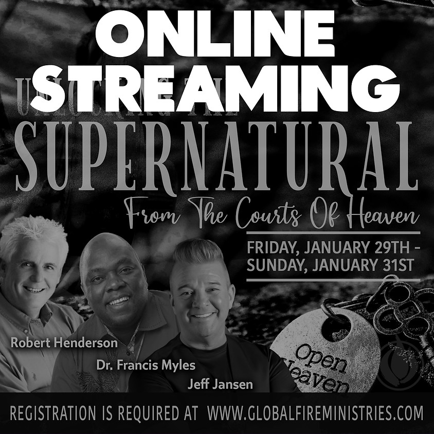ONLINE VIEWING FOR PARTNERS Unlocking the Supernatural from the Courts of Heaven