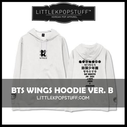 bts wings hoodie ver b