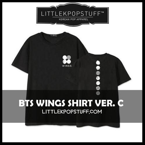 bts wings shirt ver c