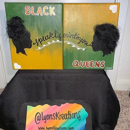 Speak Life Black Queens