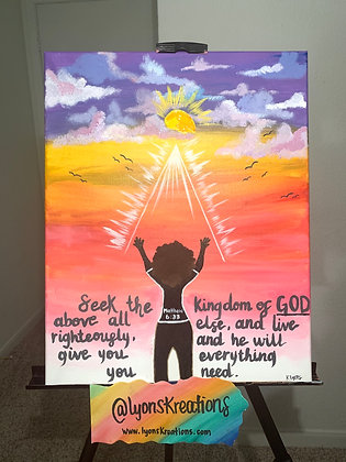 Matthew 6:33 (NLT)