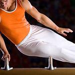 männliche Gymnast