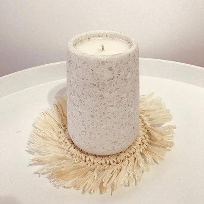 TE R R A Z Z O   D R E A M S |  Terrazzo ceramic soy wax candle