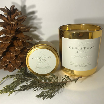 CHRISTMAS TREE |  Limited edition festive soy wax candle