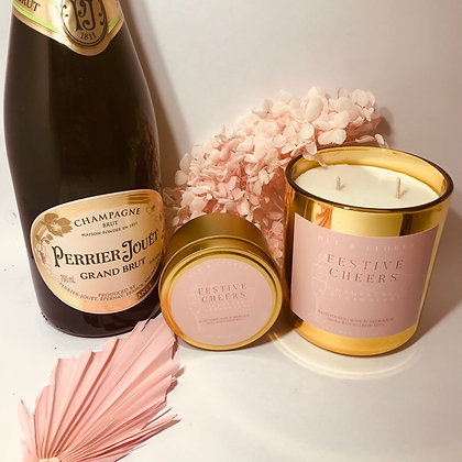 FESTIVE CHEERS |  Limited edition festive soy wax candle