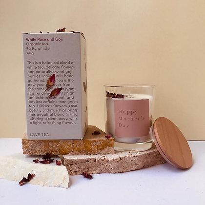 White Rose gift box - standard