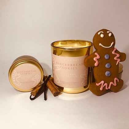 GINGERBREAD COOKIES |  Limited edition festive soy wax candle