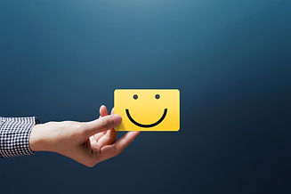 Customer Experience Concept, Happy Clien