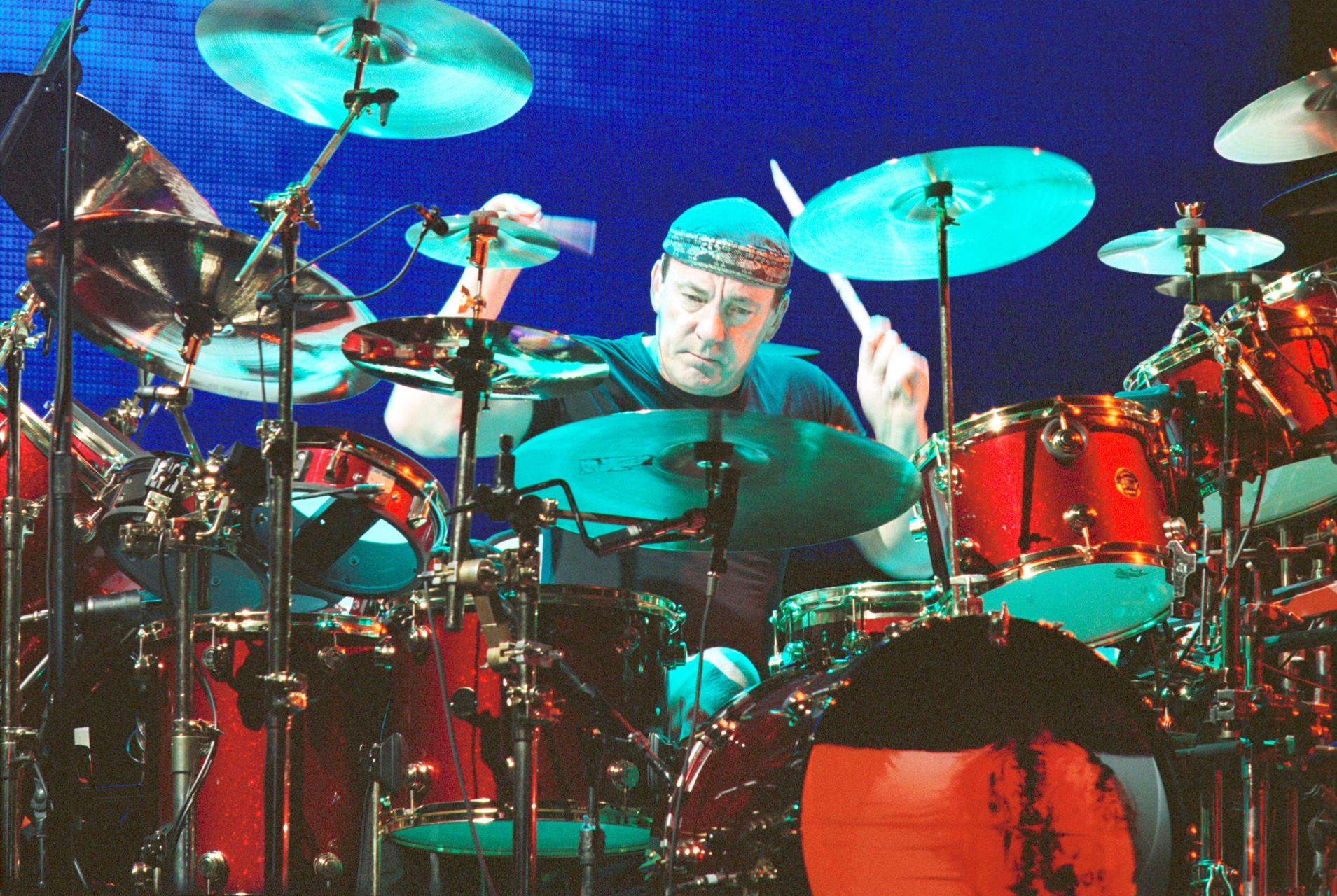 Neil Peart _ Rush in Rio 2002