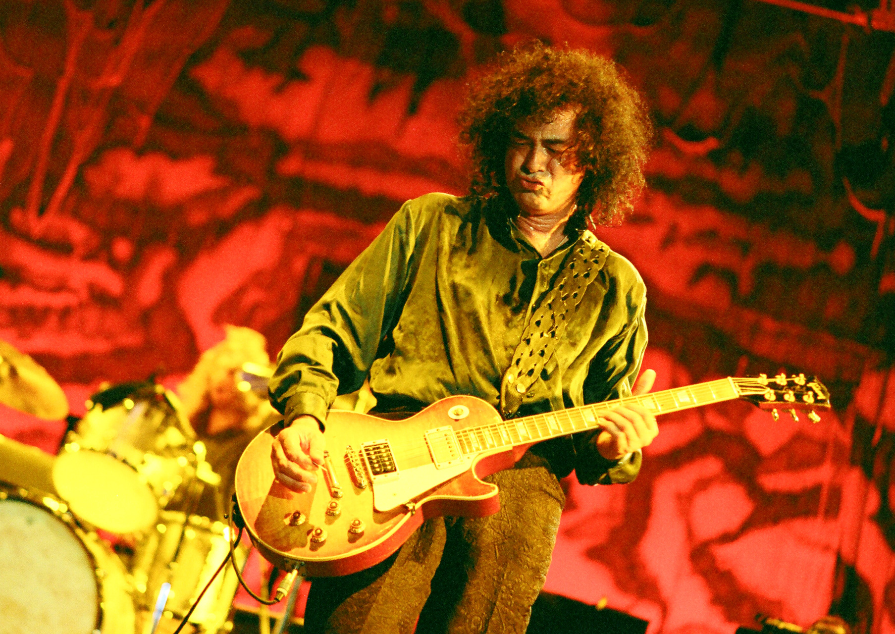 Jimmy Page _ Hollywood Rock 1996