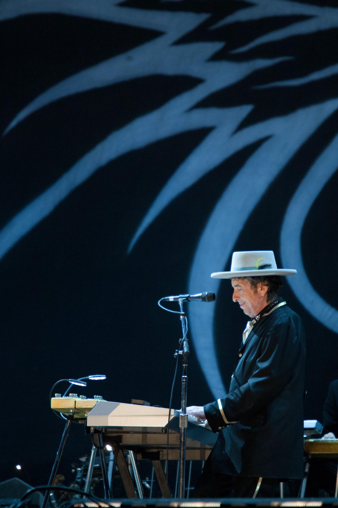 Bob Dylan _ Rock in Rio Madrid, 2008