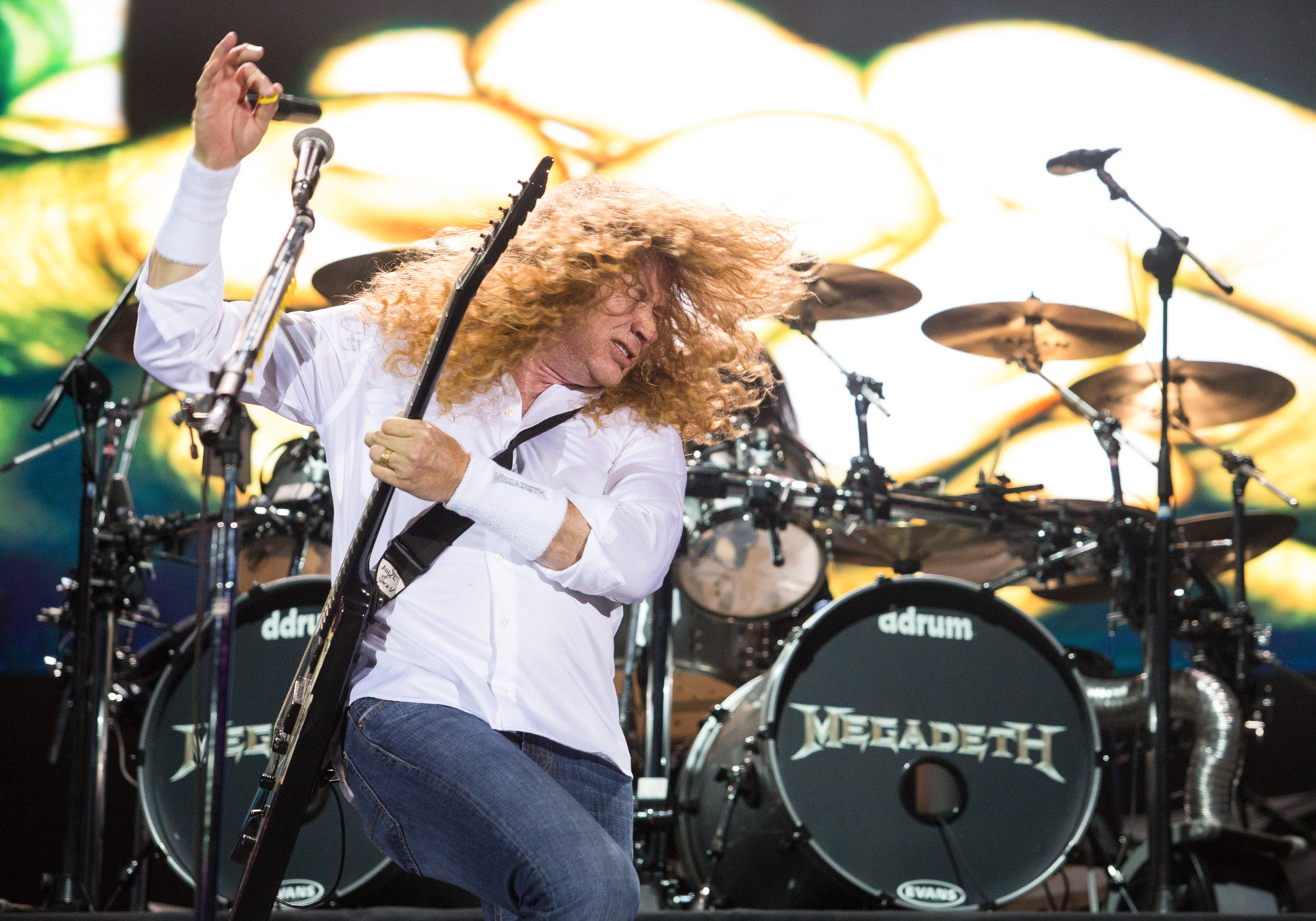 Dave Mustaine, Megadeth _ Chile 2013