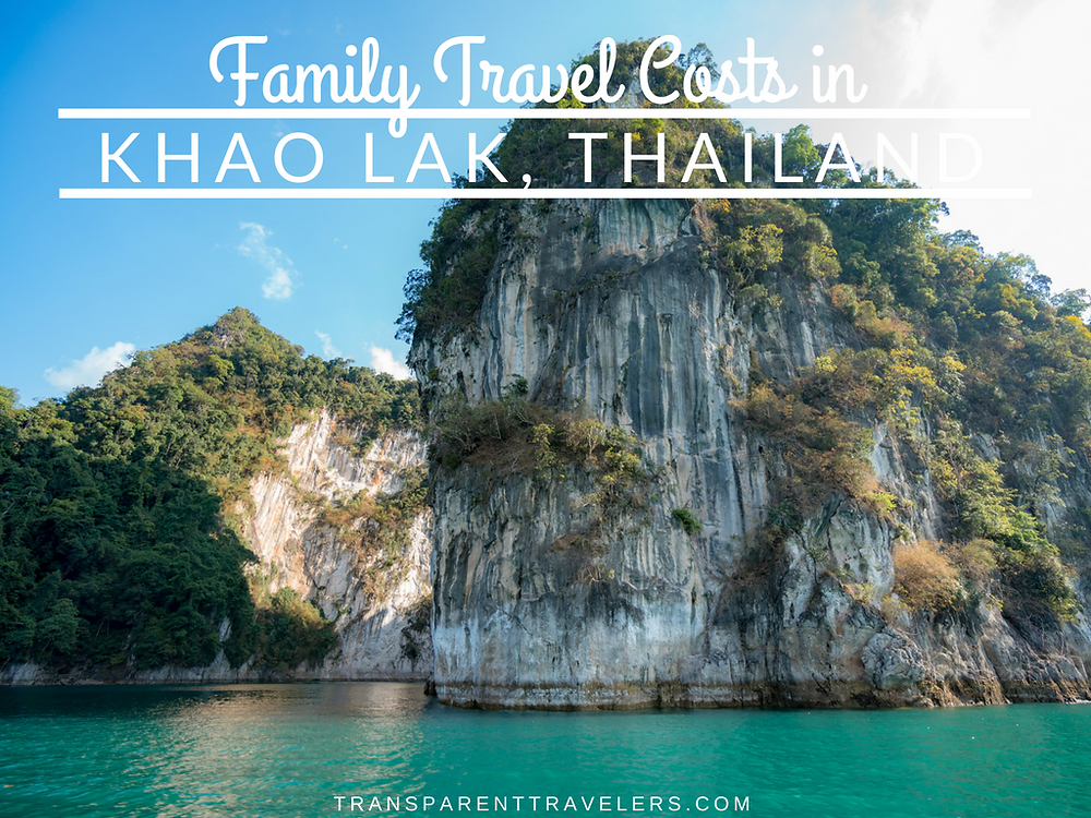 Family Travel Costs in Thailand with the Transparent Travelers at www.transparenttravelers.com