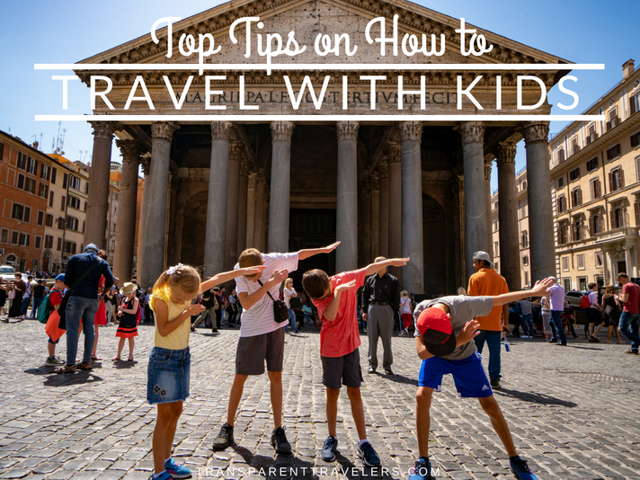 Top Tips on How to Travel with Kids