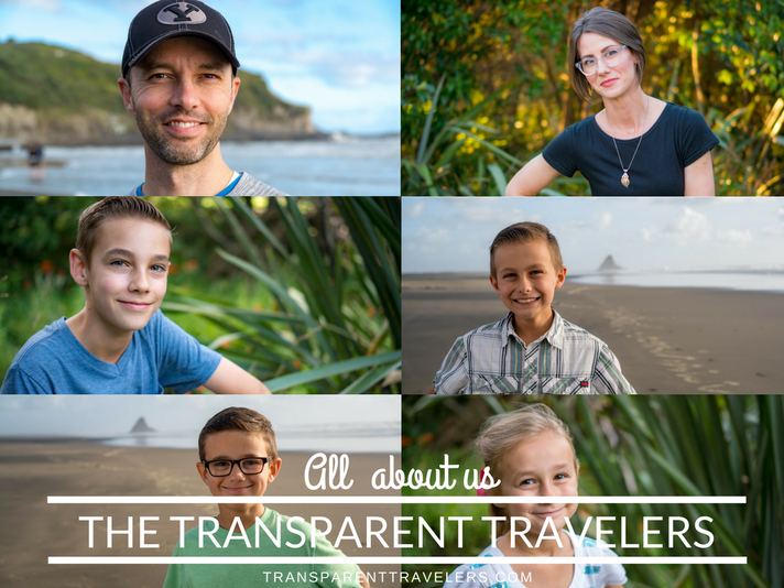 All About Us- The Transparent Travelers