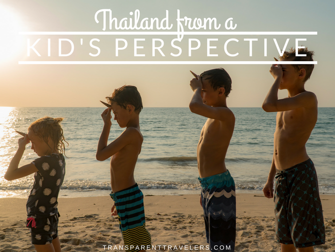 Thailand From a Kid's Perspective
